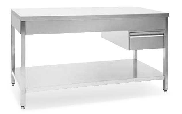 Cassetto T250 installato su tavolo T235