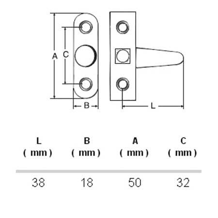 02. QUOTE - CHIUSURA A TAVELLINO INOX AISI 304