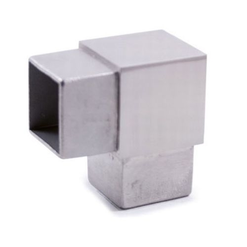 Curve snodi tappi accessori per ringhiere e balaustre in for Ferro tubolare quadrato prezzo