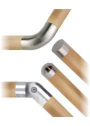 accessori inox per legno