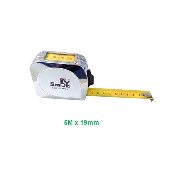 Flessometro professionale con nastro ad elevata resistenza alla flessione (non flette fino a 3 metri d'altezza).