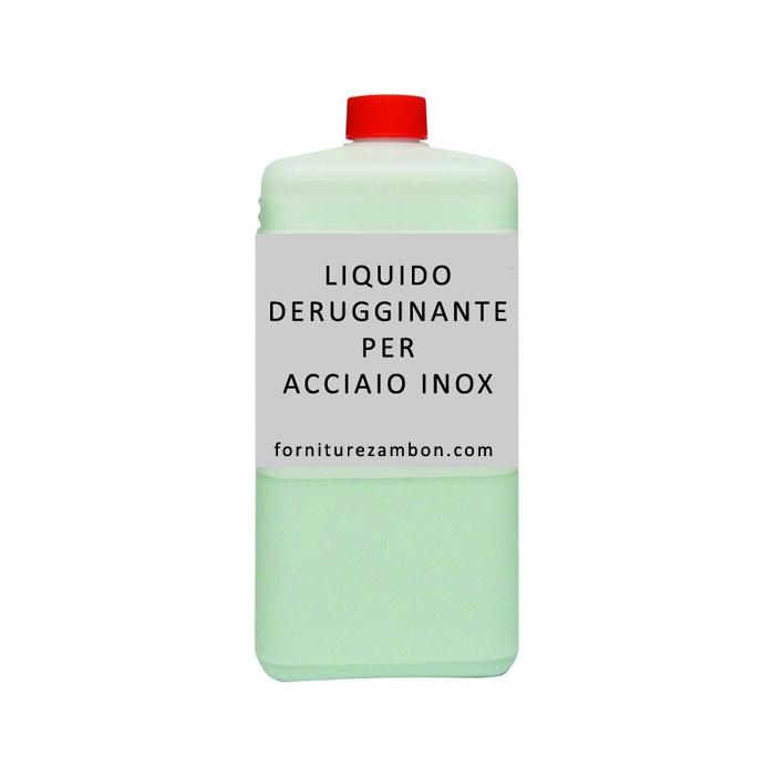 DERUGGINANTE LIQUIDO PER ACCIAIO INOX