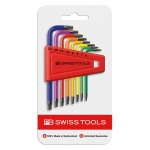 SERIE CHIAVI MASCHIO PIEGATE COLORATE PER VITI TORX PB SWISS TOOLS RAINBOW