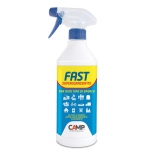 SGRASSANTE MULTIUSO PROFESSIONALE FAST CAMP SPRAY ADATTO A CUCINE INDUSTRIALI