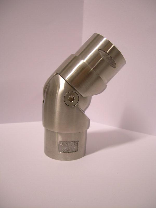 06. SNODO INOX AISI 304  PER TUBO, REG.90-180°