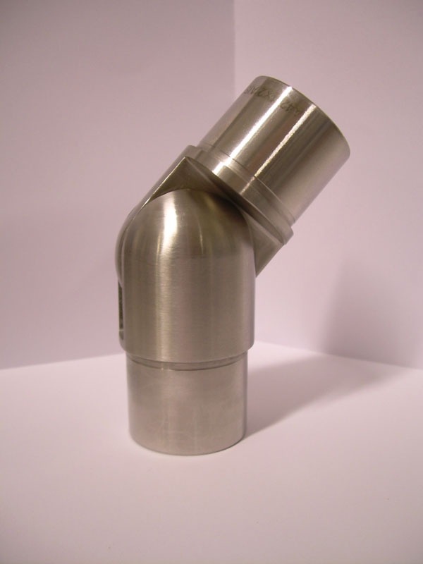 05. SNODO INOX AISI 304 PER TUBO, REG.90°-270°