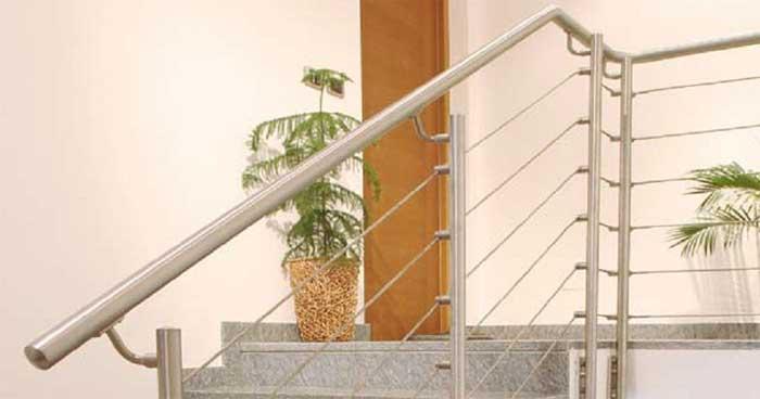 3.Esempio di impiego dei sostegni laterali per fune