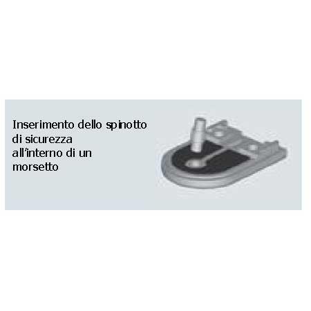 SPINOTTO DI SICUREZZA INOX