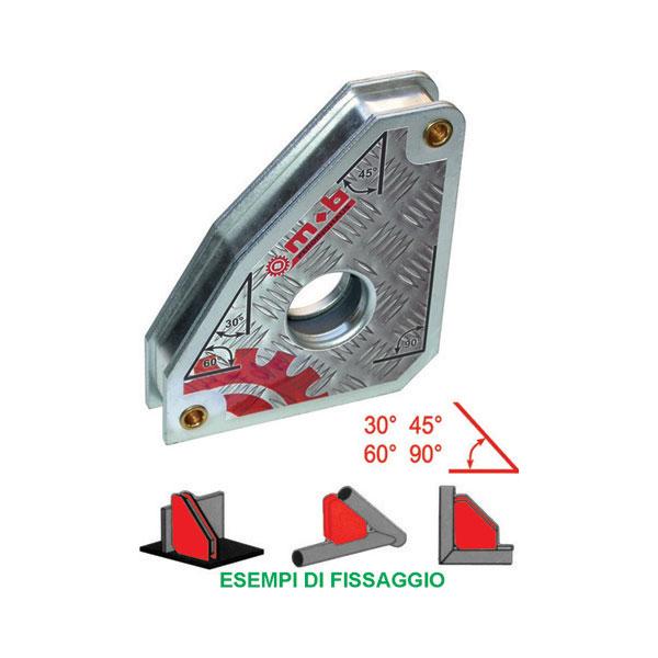Dispositivo magnetico per saldatori