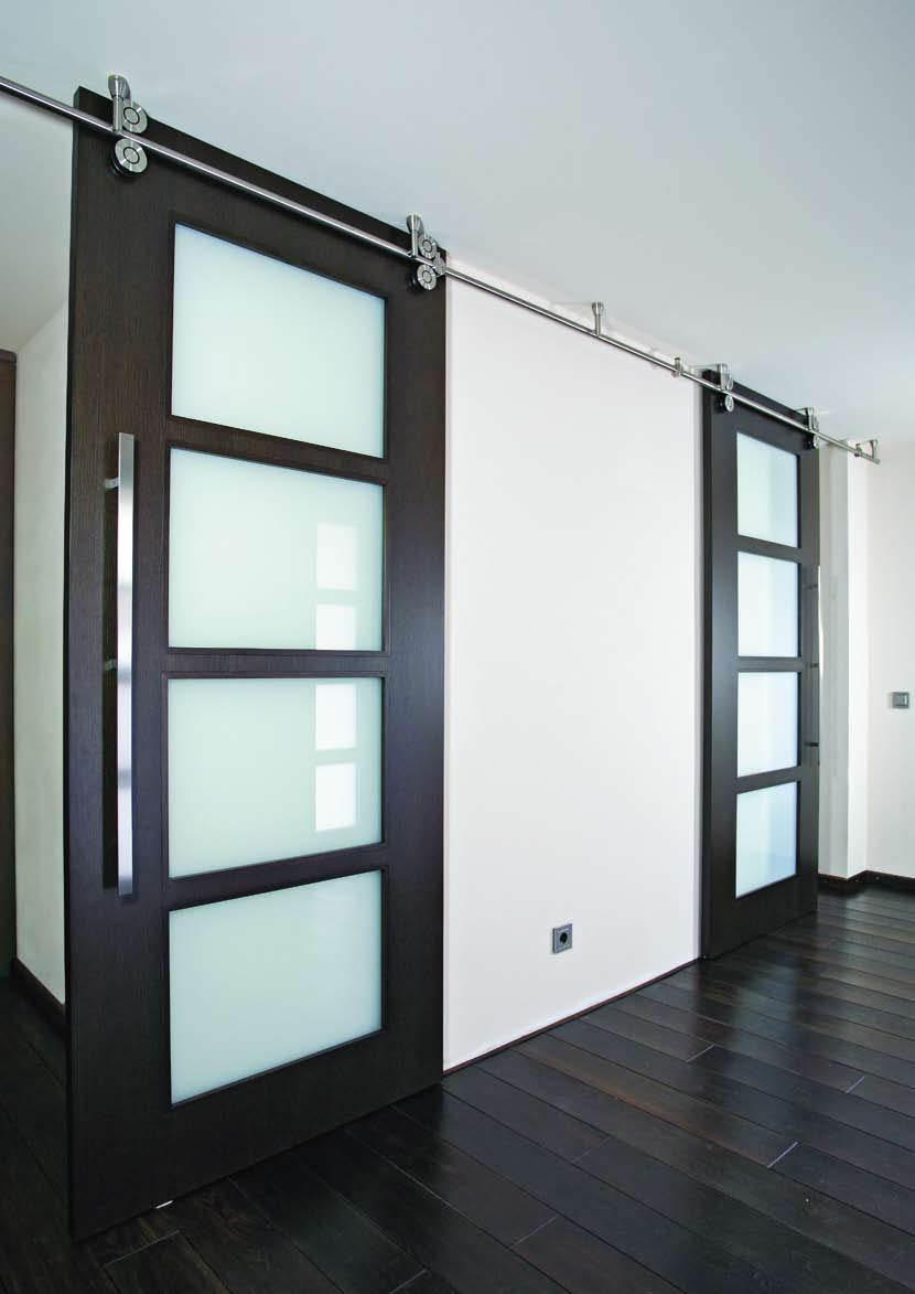 Casa immobiliare accessori porte scorrevoli in legno per - Porte interne in vetro scorrevoli ...